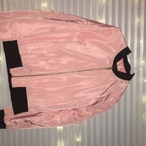 Bomber Jacket! Pink and in-style!